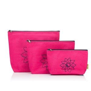 della Q Mesh + Zip Collection Bags