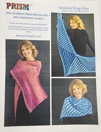 Prism Yarns Gradient Wrap Duo Pattern
