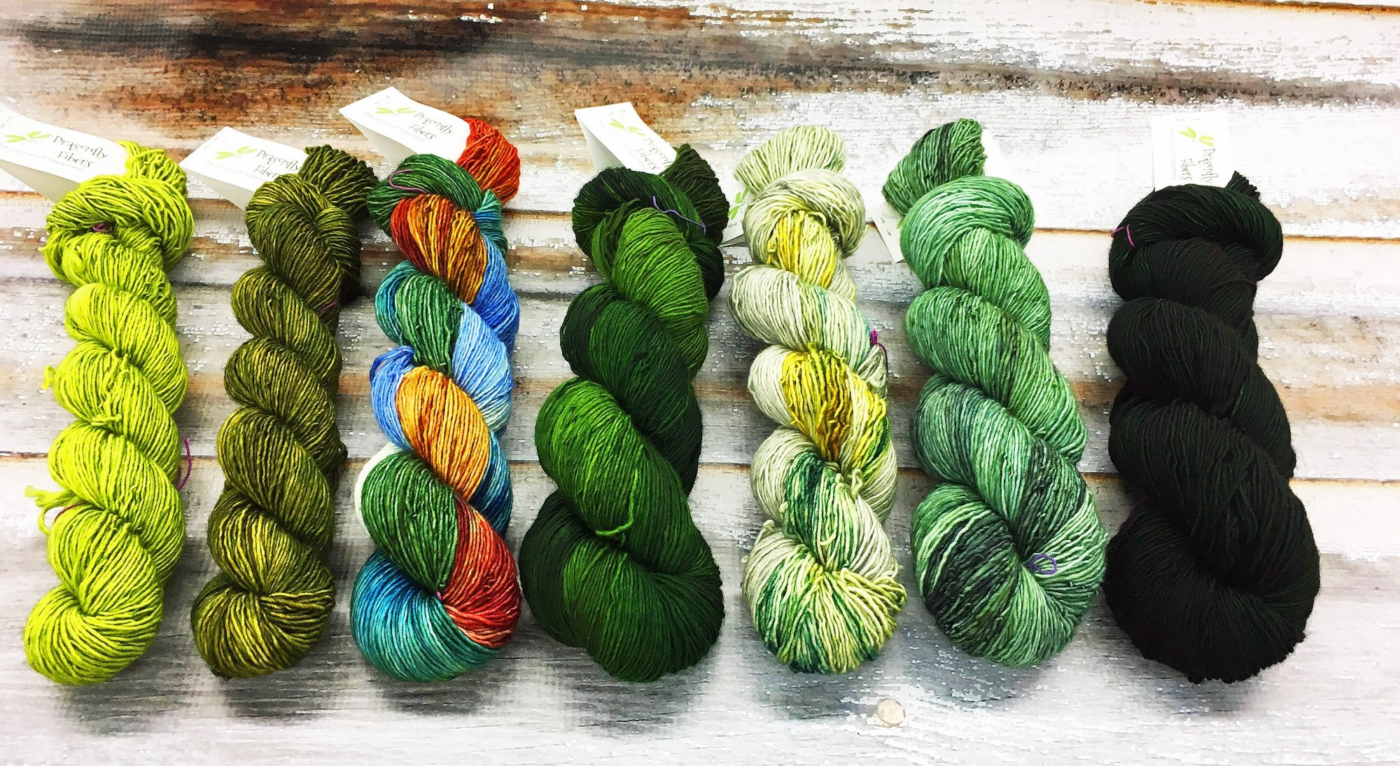 Dragonfly Fibers Find Your Fade Shawl Kit