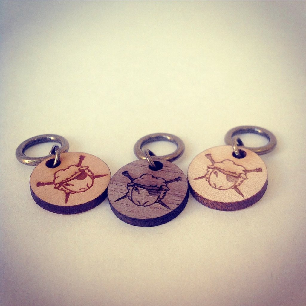 Spincycle Stitch Markers
