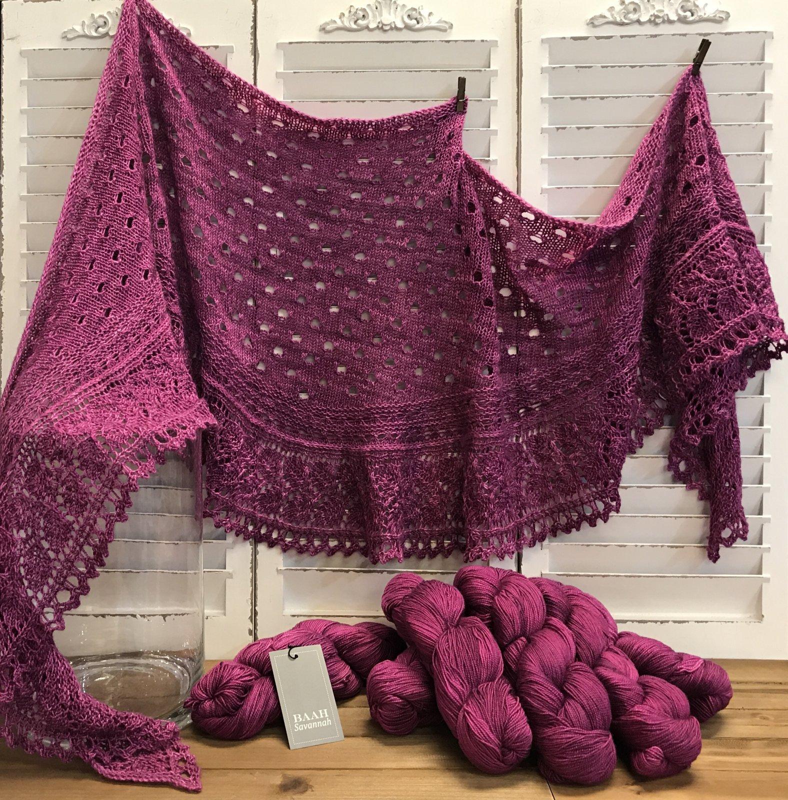 Yvonne Savannah I Shall Wear Purple Yarn