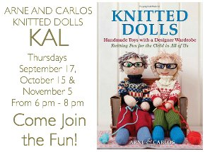 knitted doll KAL