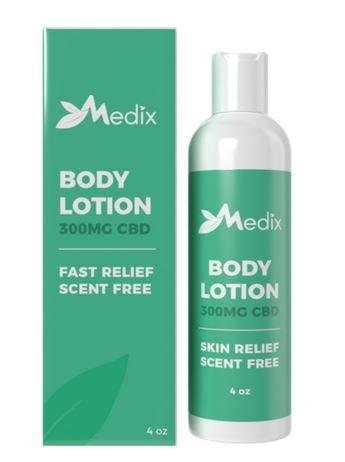 Medix CBD Lotion