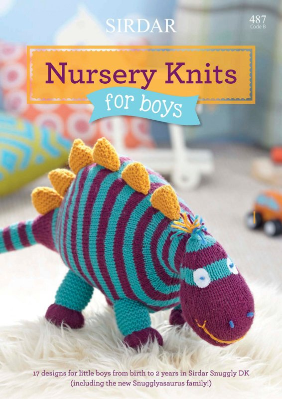 Sirdar Nursery Knits For Boys