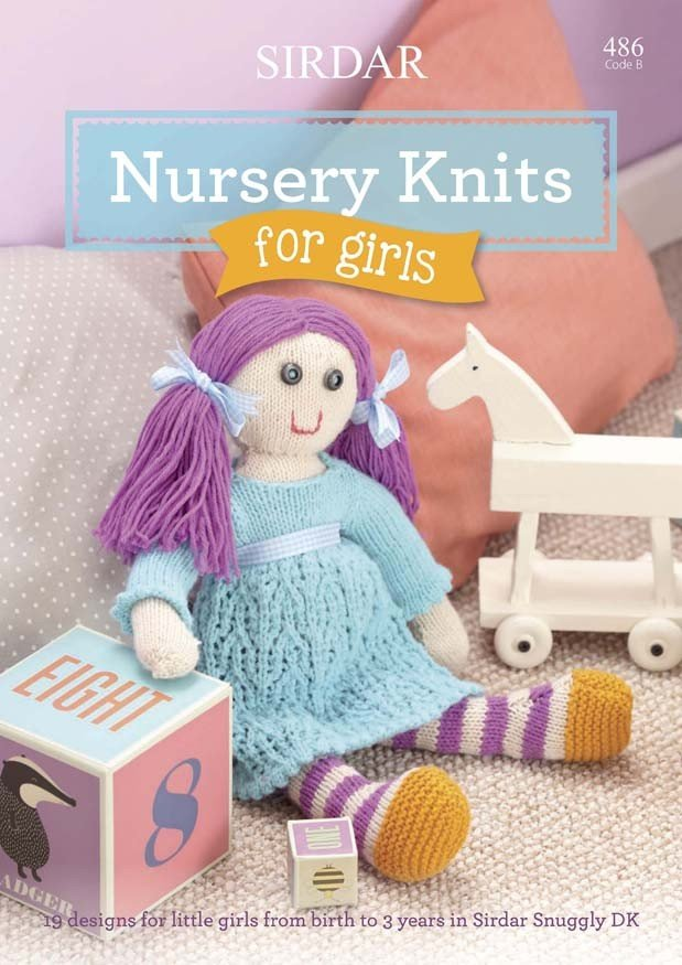 Sirdar Nursery Knits For Girls