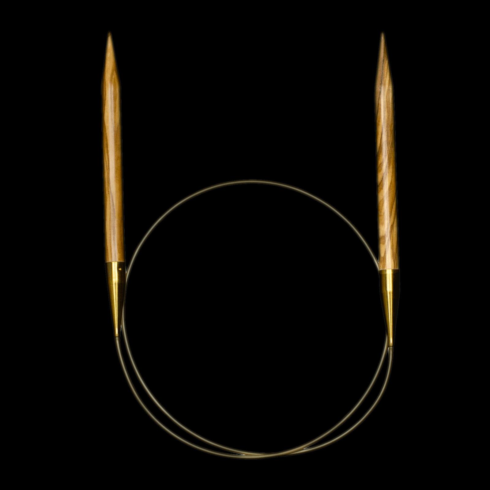 Addi Nature Olive 16 Circular Needles