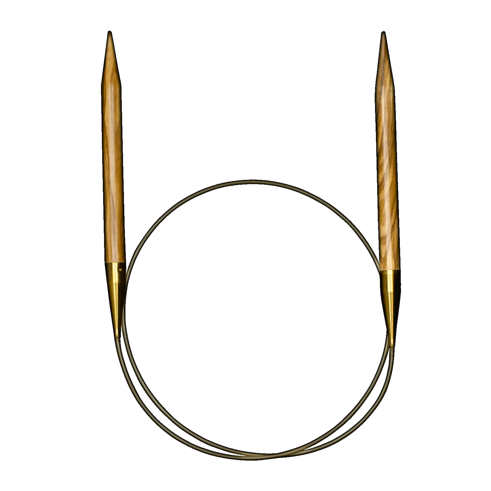 Addi Nature Olive 40 Circular Needles