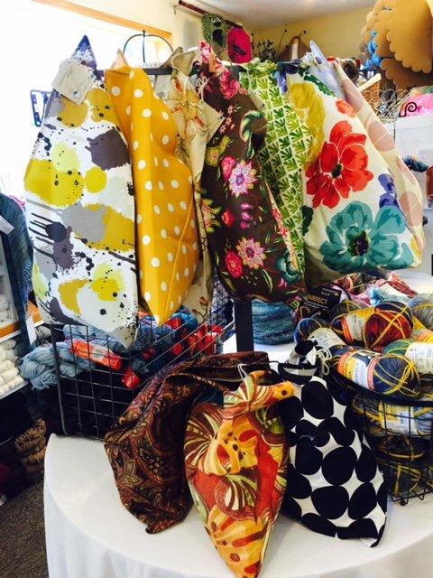 Origami Knitting Bag