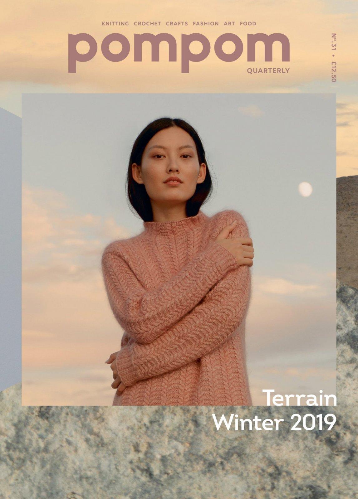 PomPom Quarterly Issue 31: Terrain Winter 2019