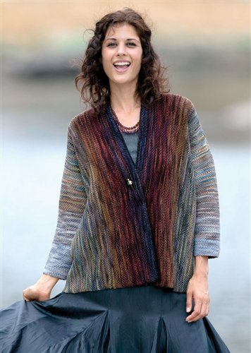 Prism Yarns Sonata Jacket From Artful Knits in Merino Mia Size 1 & 2
