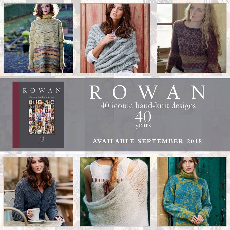 Rowan 40 Years: 40 Iconic Hand-Knit Designs