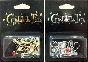 Crystaletts Silver Stitch Markers