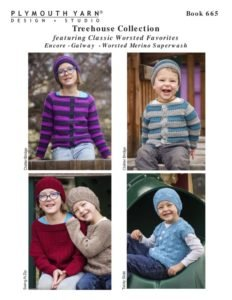 Plymouth Treehouse Collection Pattern Booklet