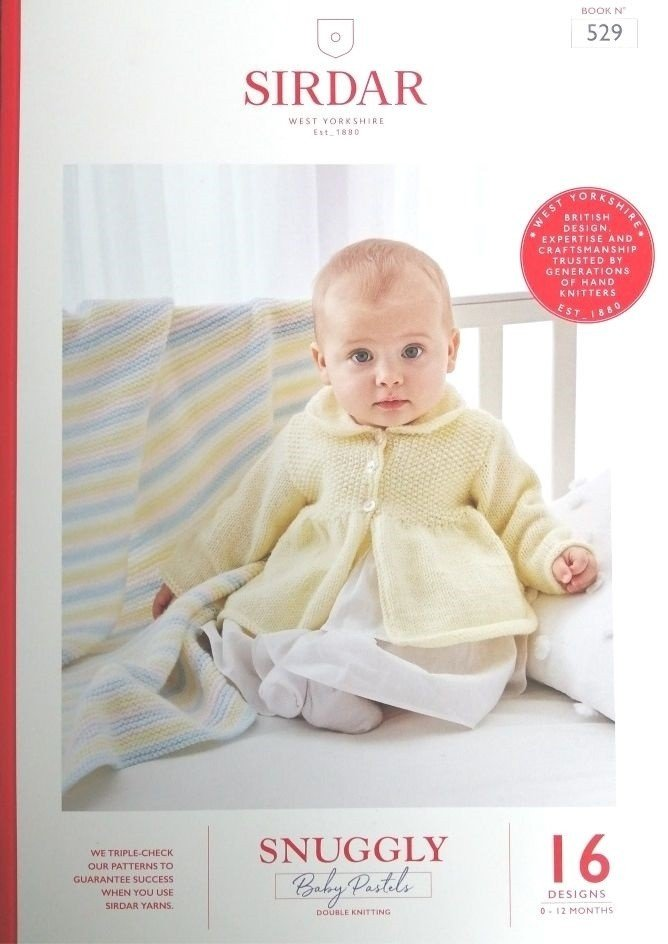 Sirdar Snuggly Baby Pastels Pattern Book