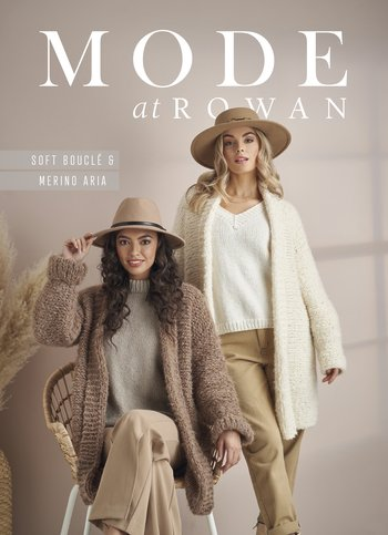 Mode at Rowan Soft Boucle and Merino Aria