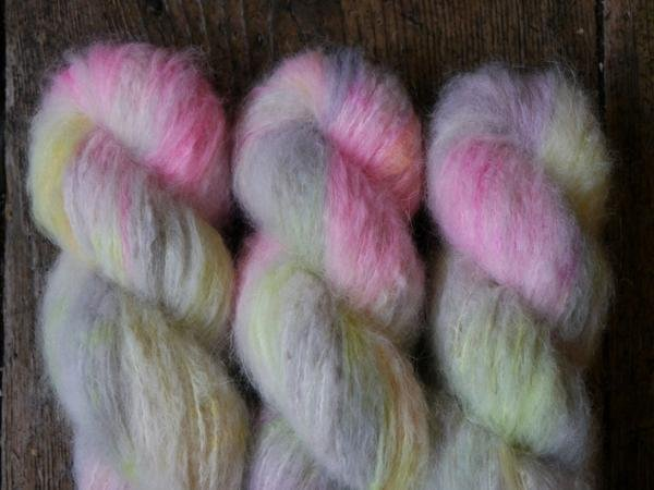 Qing Fibres Melted Baby Suri Yarn