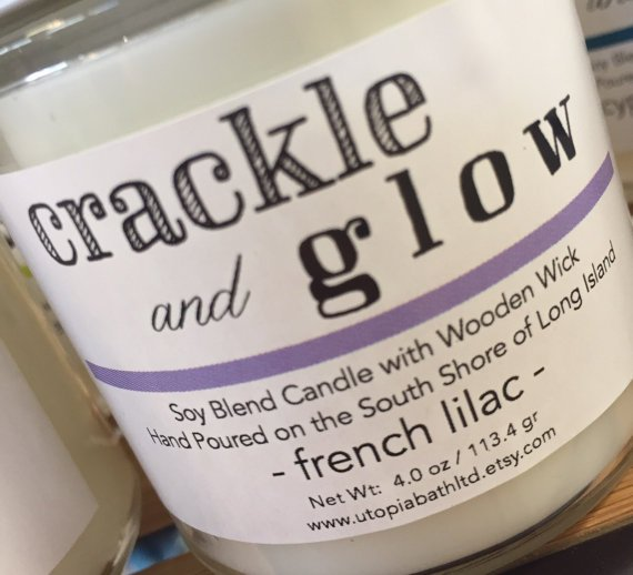 Utopia Crackle & Glow Soy Candles