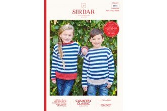 Sirdar Country Classic DK Sweater Age 2-11-2516
