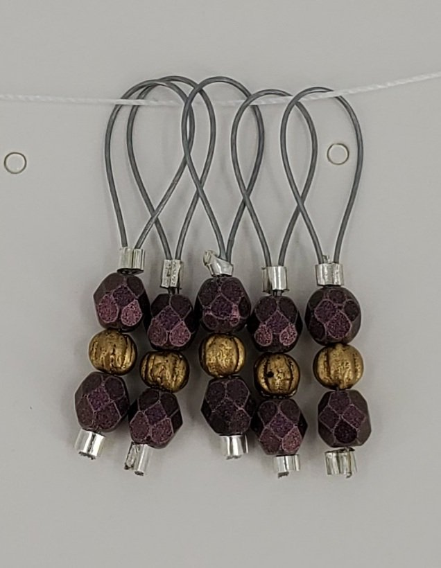 Stitch Markers and Progress Keepers by CK