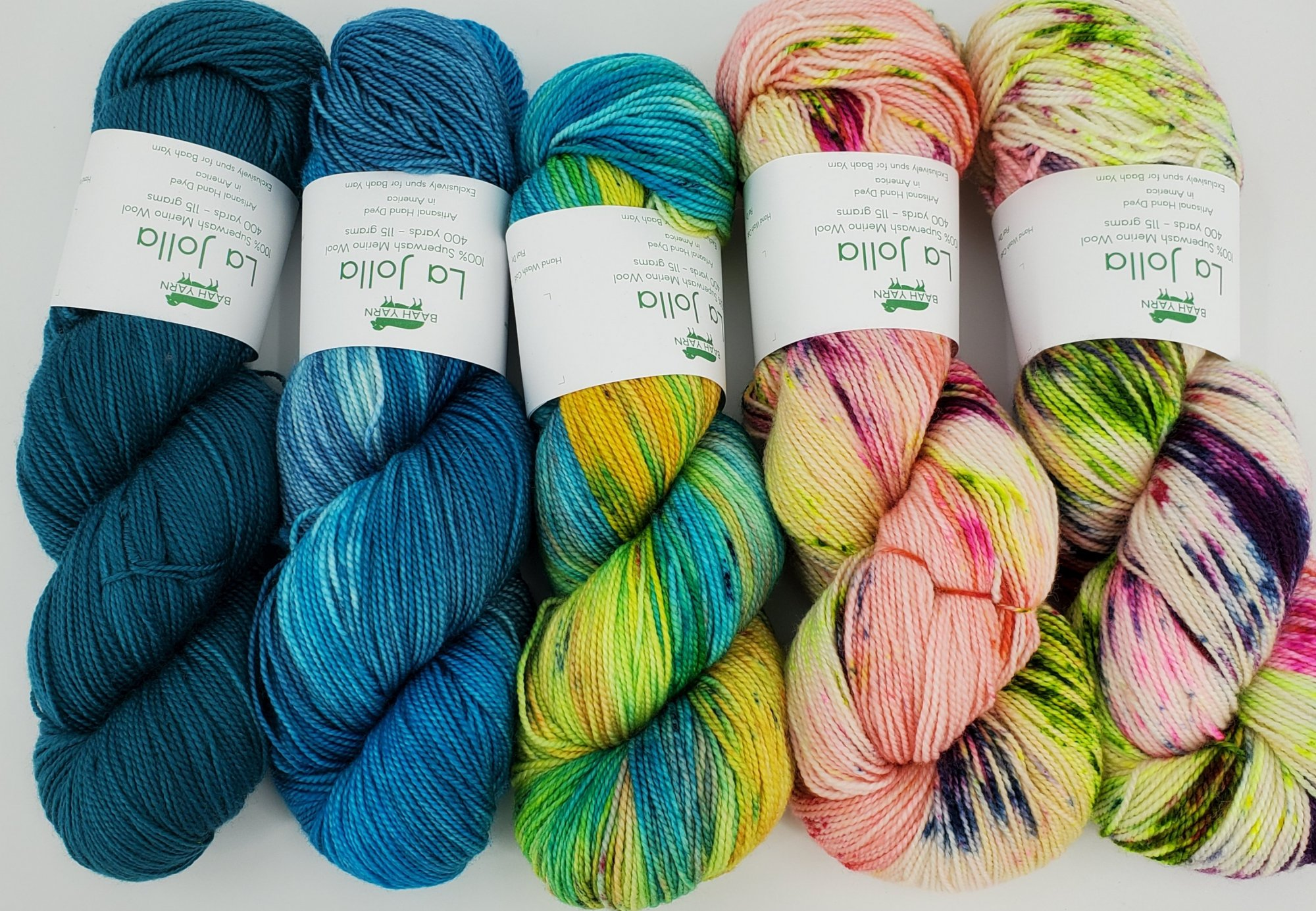 Baah Yarns La Jolla Fade Packs of Yarn
