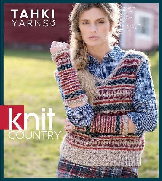 Tahki Yarns Knit Country Collection Pattern Book