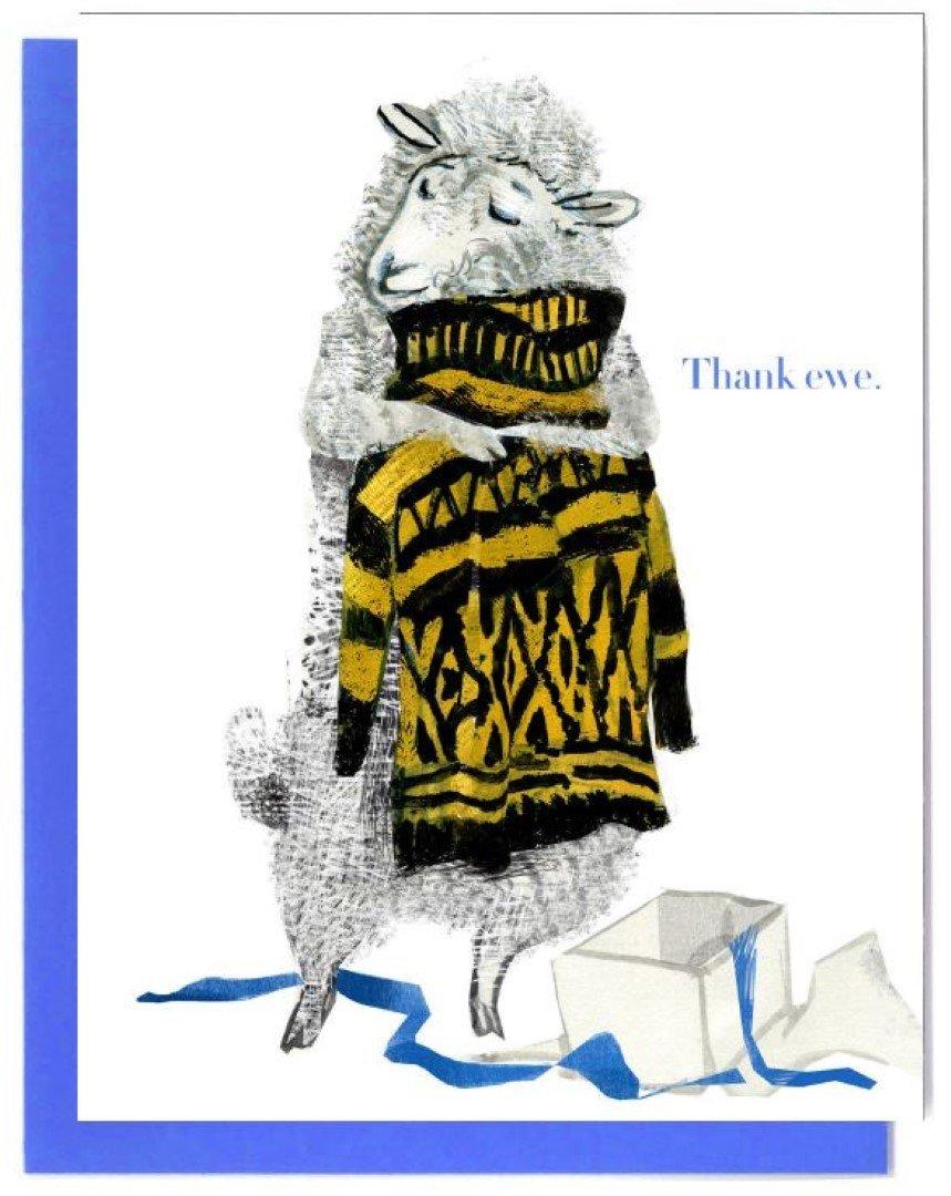 Thank Ewe Notecards Boxed Set & Individual Cards