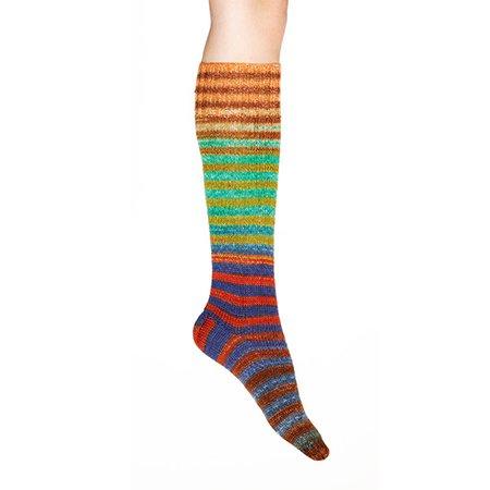 Uneek Sock Kit: Identical Self-Striping Sock Yarn Kits