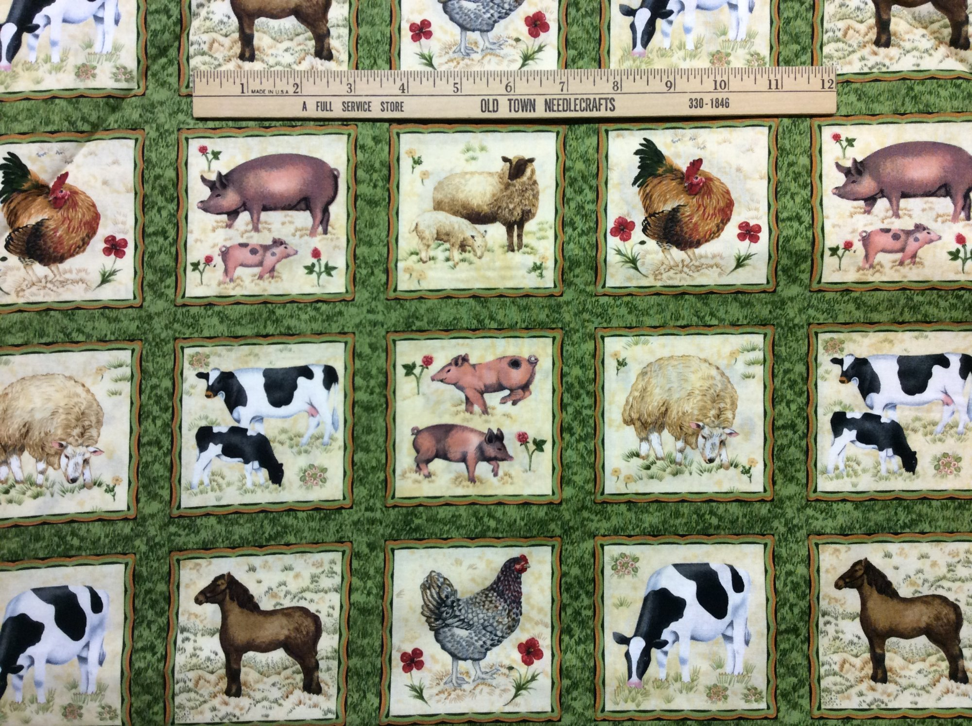 Buttercup Animal Panels