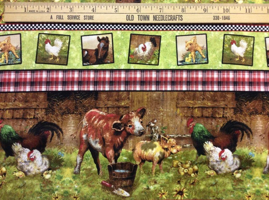 Barn Yard Babie Farm Shelf Print