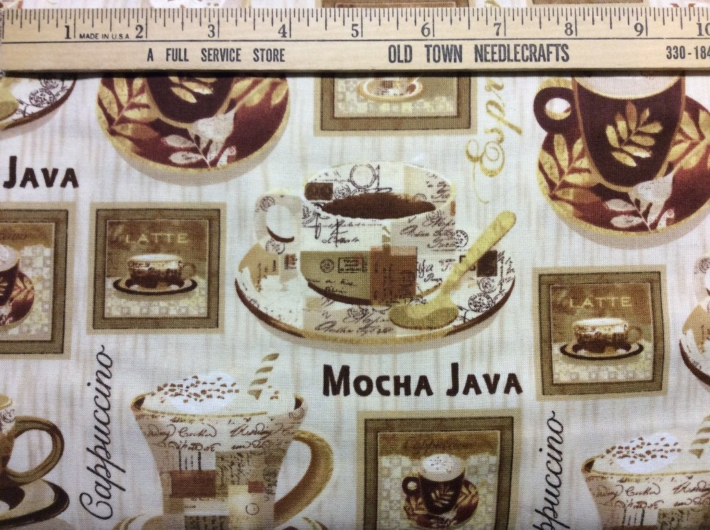 Coffee Break - grid of cups