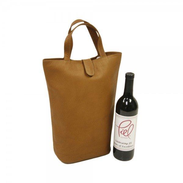 Piel 2356 Double Wine Tote*