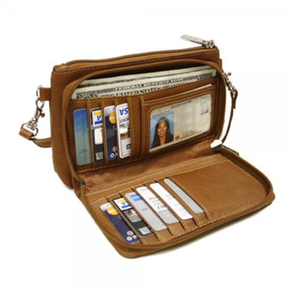 Piel 2860 Shoulder Bag/Wristlet*