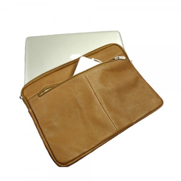 Piel 2894 17 Zip Laptop Sleeve*