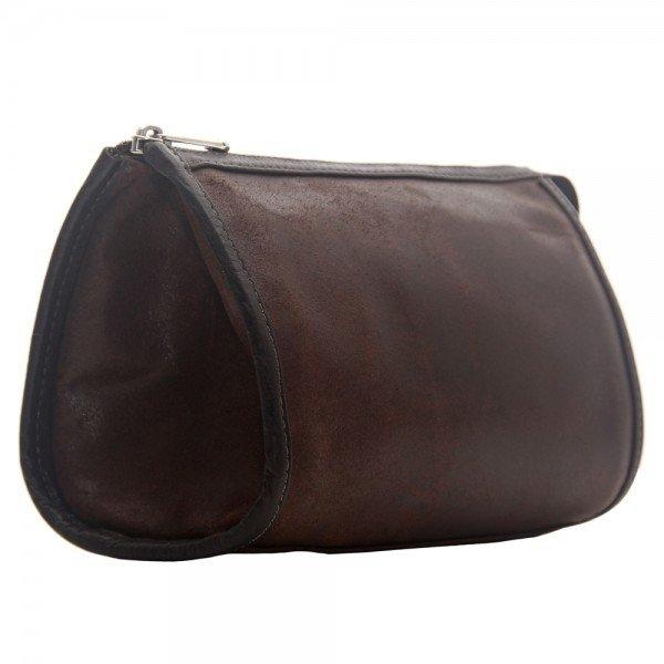 Piel 2984 Vintage Tear-Drop Cosmetic Bag*