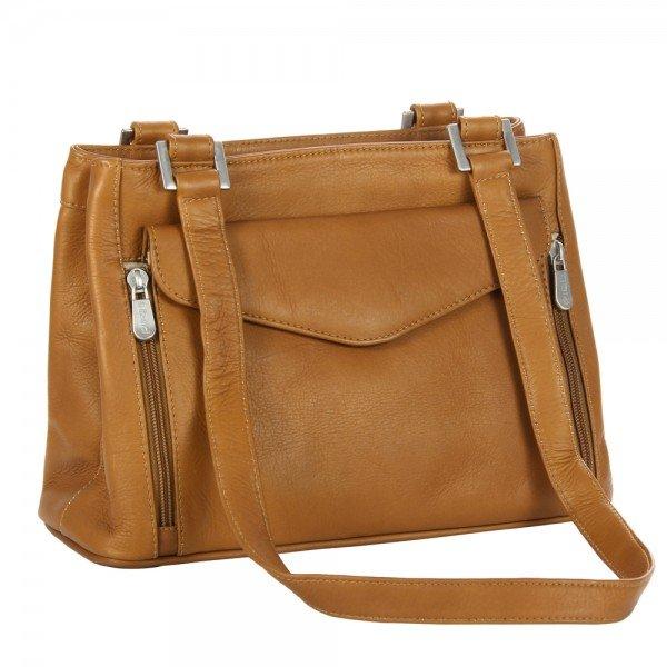 Piel 2999 Double Compartment Shoulder Bag*