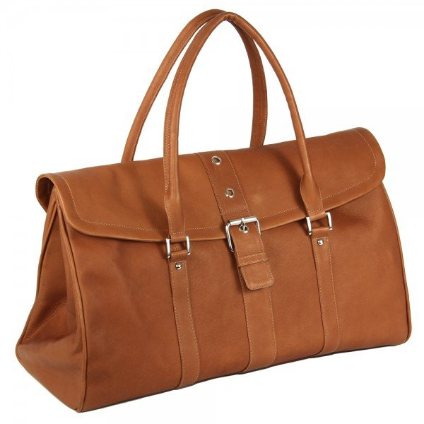 Piel 3022 Buckle Flap-Over Satchel*