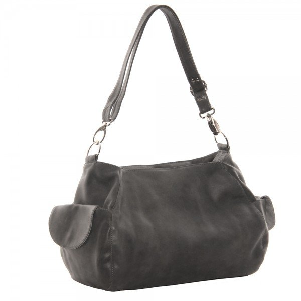 Piel 3041 Top-Zip Shoulder Bag/Cross Body Hobo*