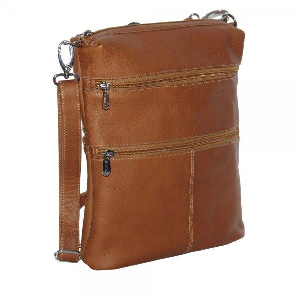 Piel 3052 Convertible Multi-Pocket Shoulder Bag/Backpack*