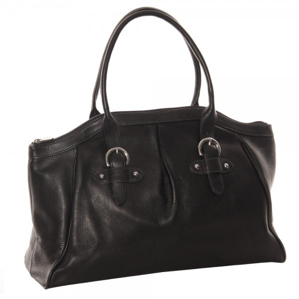 Piel 3055 Large Top-Zip Handbag*