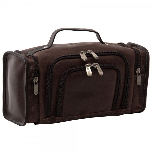 Piel 3069 Multi-Compartment Toiletry Kit*