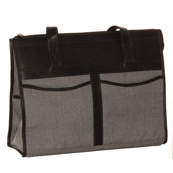 Piel 3075 Canvas Travel Tote Bag*