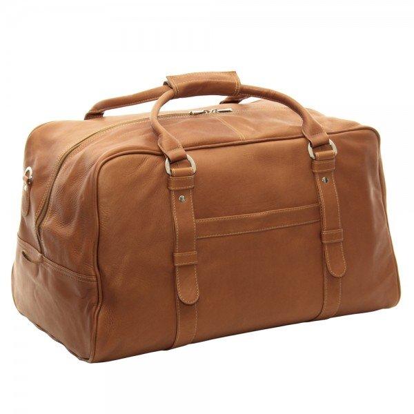 Piel 3078 Large Top-Zip Duffel Bag*