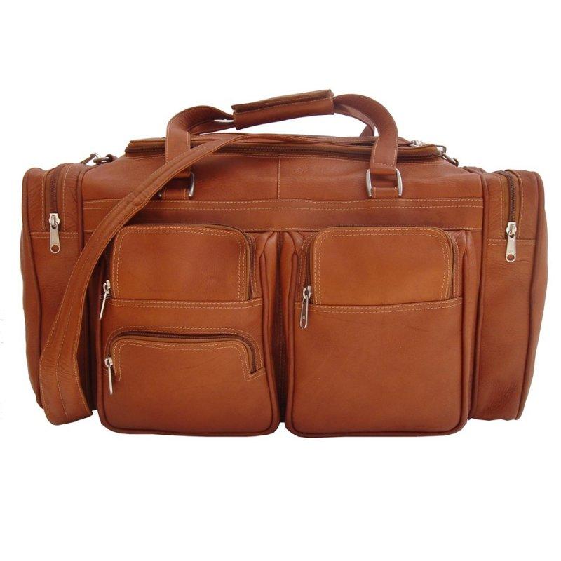 Piel 7720 20 Duffel Bag with Pockets*