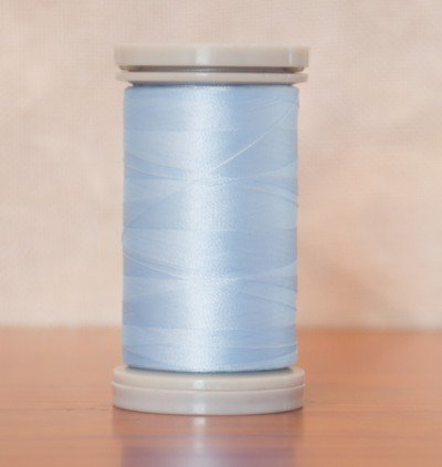 QUILTERS SELECT 80 WT PARA-COTTON/POLY - LIGHT BLUE