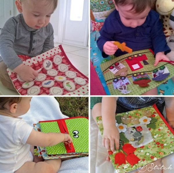A BIT OF STITCH - BABY BUSY BOOK