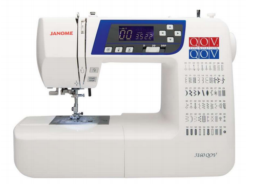 JANOME 3160QOV - QUILTS OF VALOR LIMITED EDITION