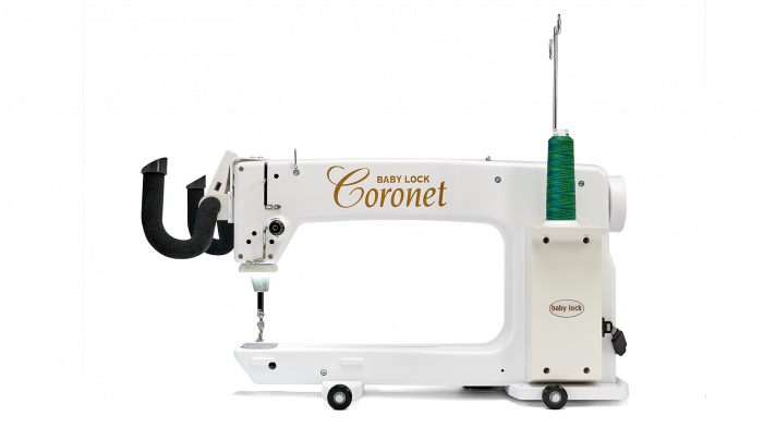 BABY LOCK CORONET WITH 5 FOOT FRAME