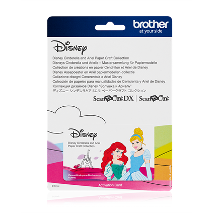 BROTHER SCAN N CUT DISNEY COLLECTION 07