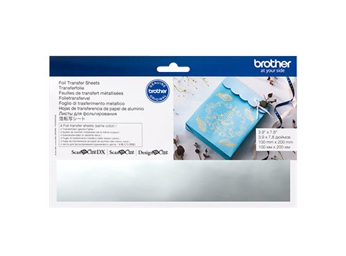 BROTHER SCAN N CUT FOIL TRANSFER SHEETS SILVER