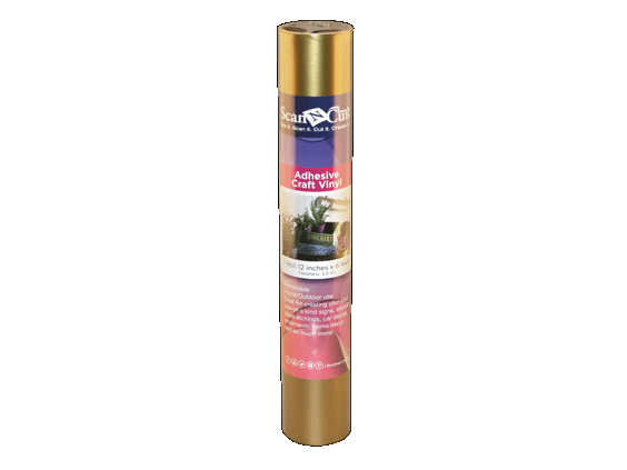 BROTHER SCAN N CUT ADHESIVE CRAFT VINYL (GOLD)